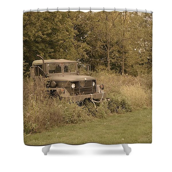 The Old Truck Shower Curtain