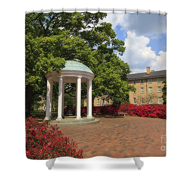 The Old Well At Chapel Hill Campus Shower Curtain