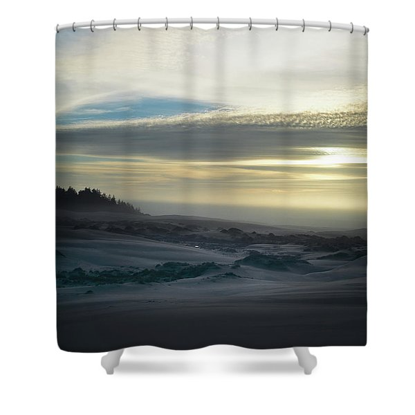 The Oregon Coast Has Many Moods Shower Curtain