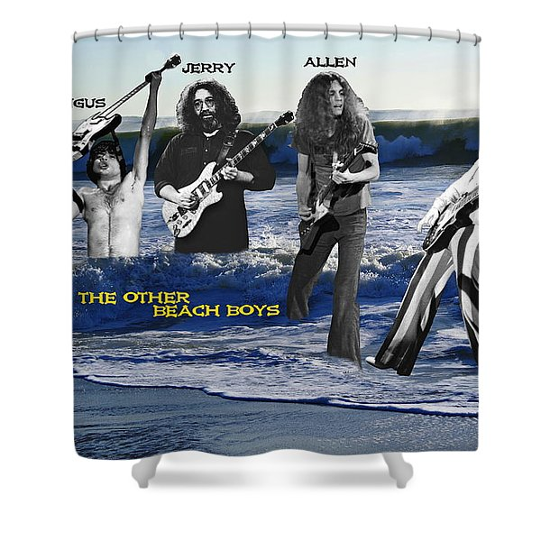 The Other Beach Boys Shower Curtain