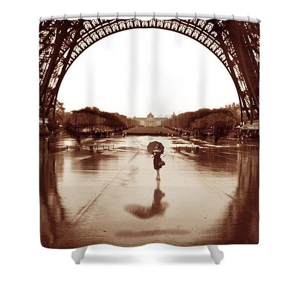 The Other Face Of Paris Shower Curtain