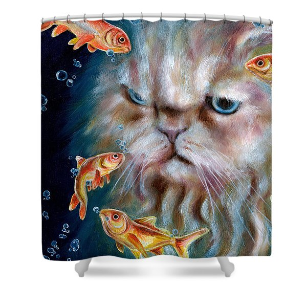 The Other Side Of Midnight Shower Curtain