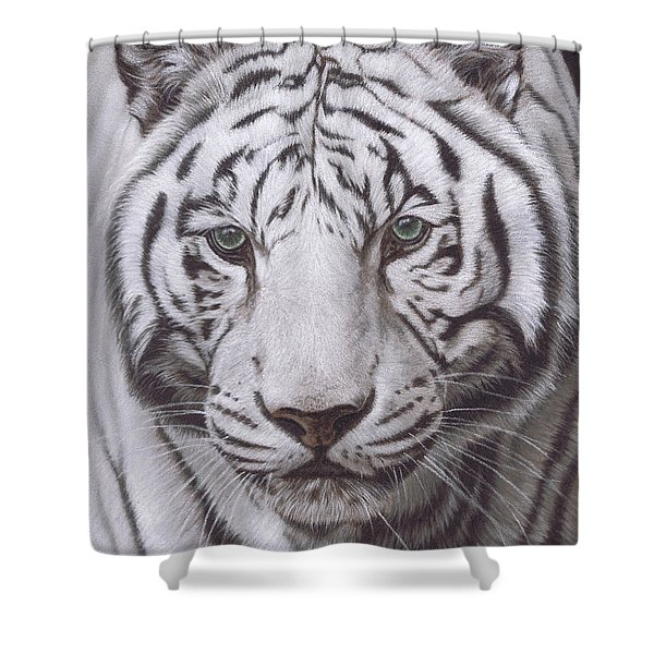 The Pale Hunter Shower Curtain
