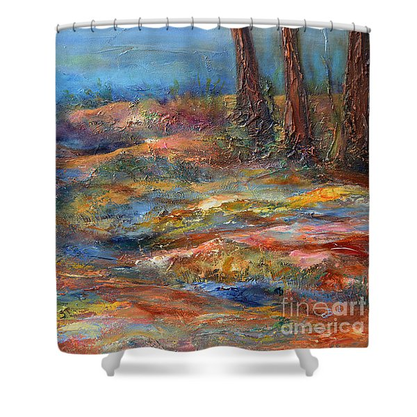The Path 1 Shower Curtain