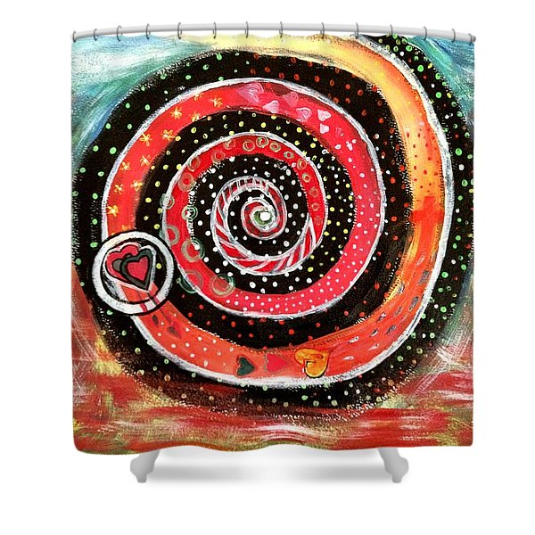 The Path Of Life Shower Curtain