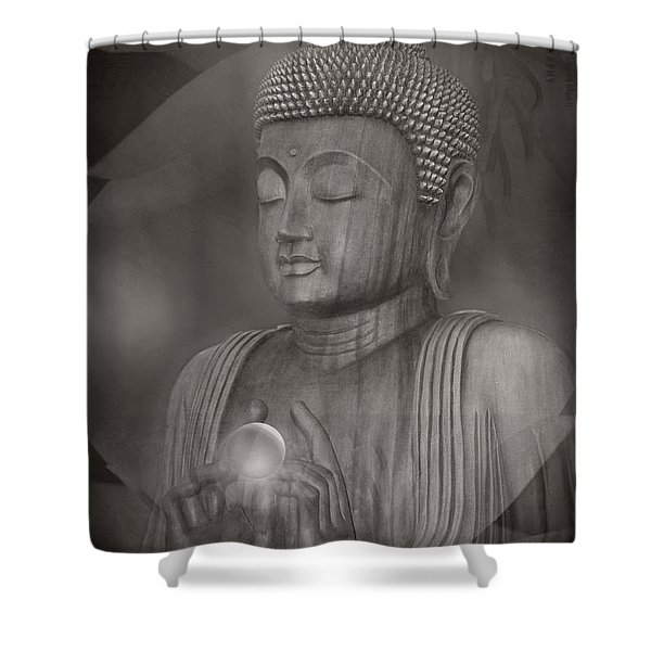 The Path Of Peace Shower Curtain