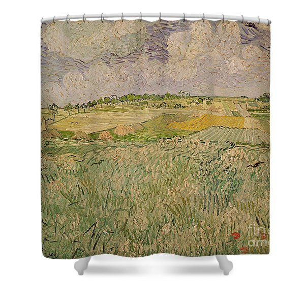 The Plain At Auvers Shower Curtain