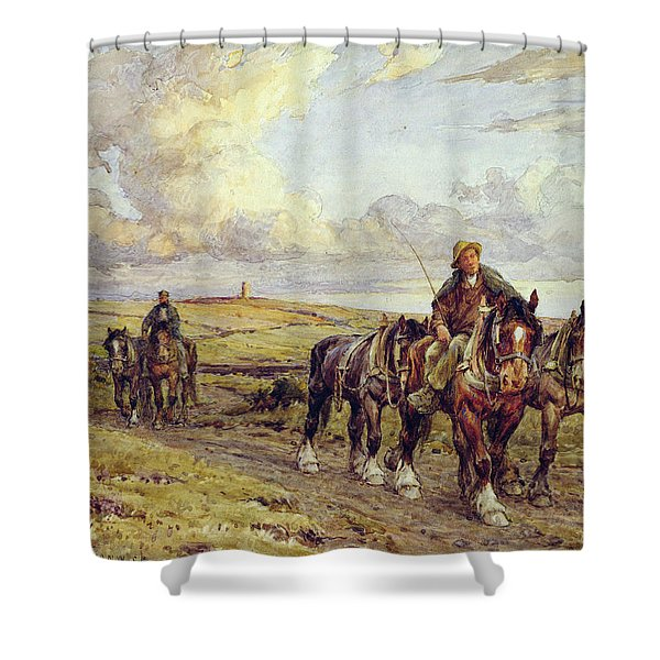 The Plow Team Shower Curtain