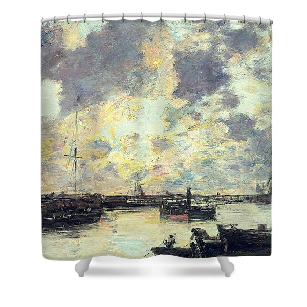 The Port Shower Curtain
