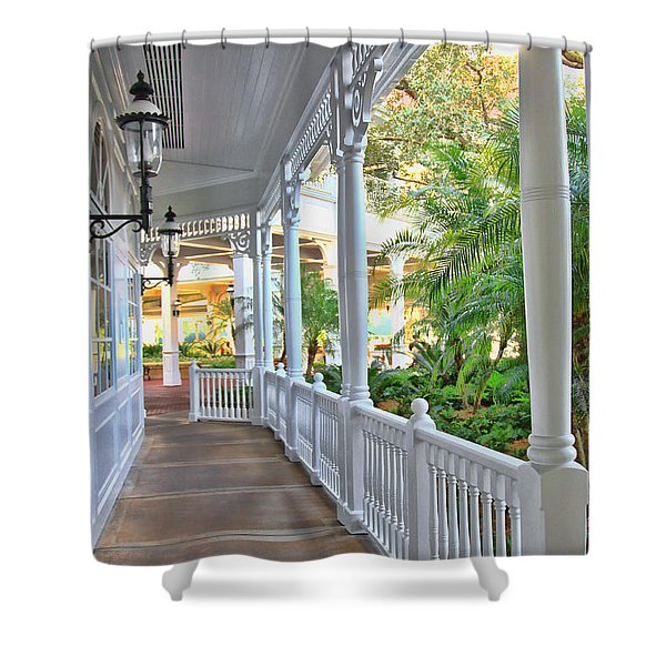 The Promenade Shower Curtain