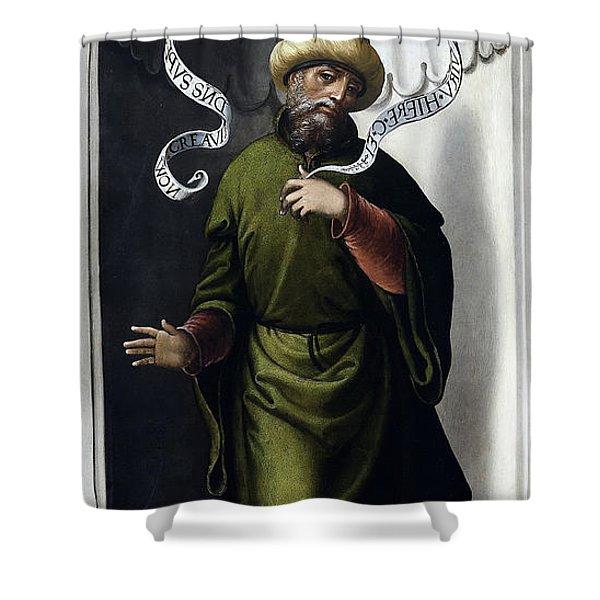 The Prophet Jeremiah Shower Curtain