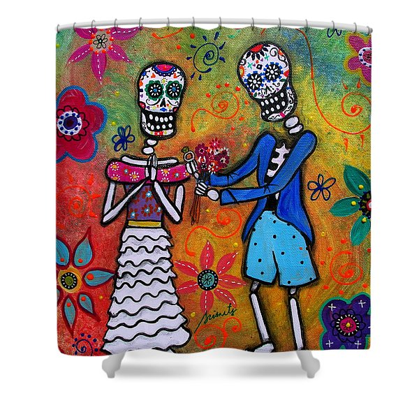 The Proposal Day Of The Dead Shower Curtain