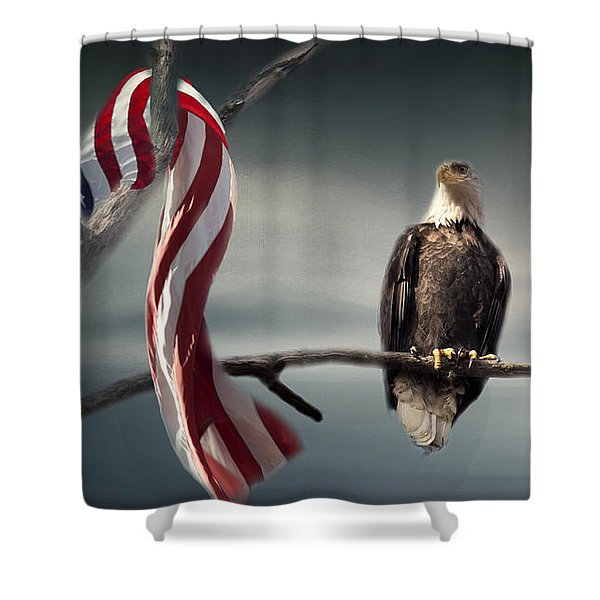 The Proud One Shower Curtain