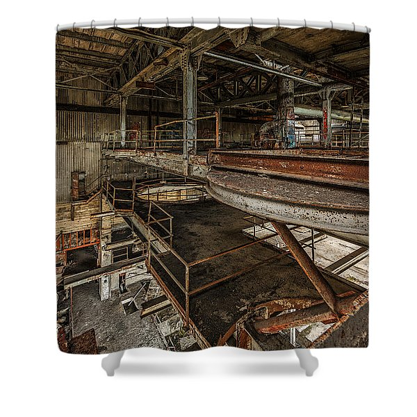 The Quarry - Levels Shower Curtain