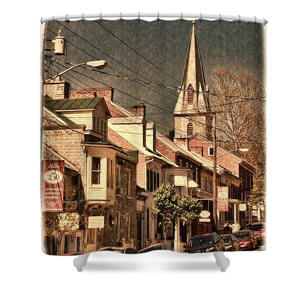 The Quintessential Semiquincentennial - Shepherdstown Wv  Shower Curtain