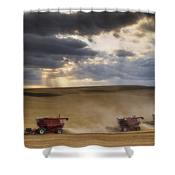 The Race To Finish Shower Curtain