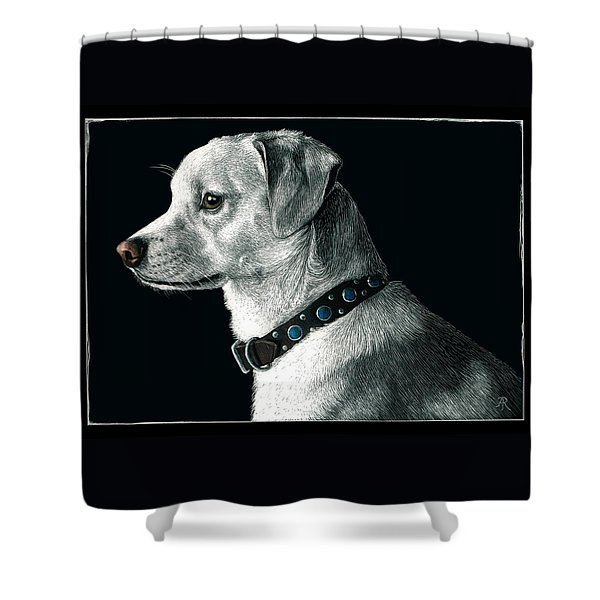 The Ratter Shower Curtain