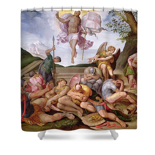 The Resurrection Of Christ, Florentine School, 1560 Shower Curtain