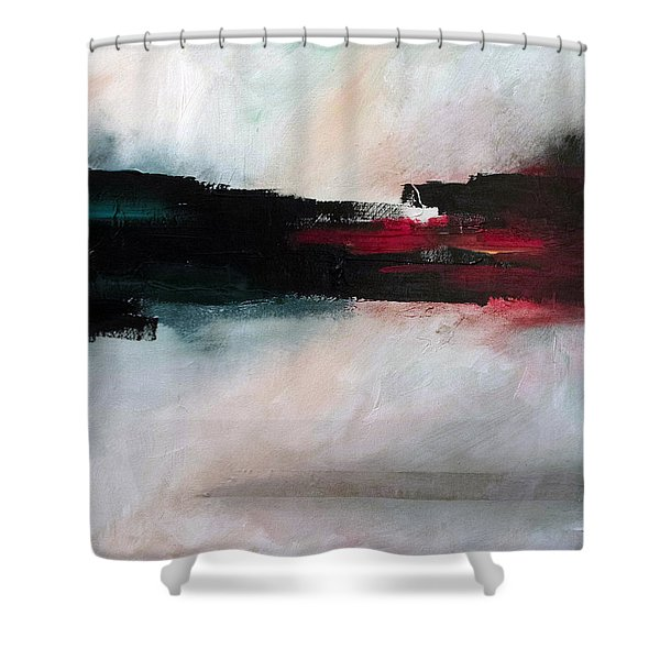 The River Tethys Part Two Of Three Shower Curtain