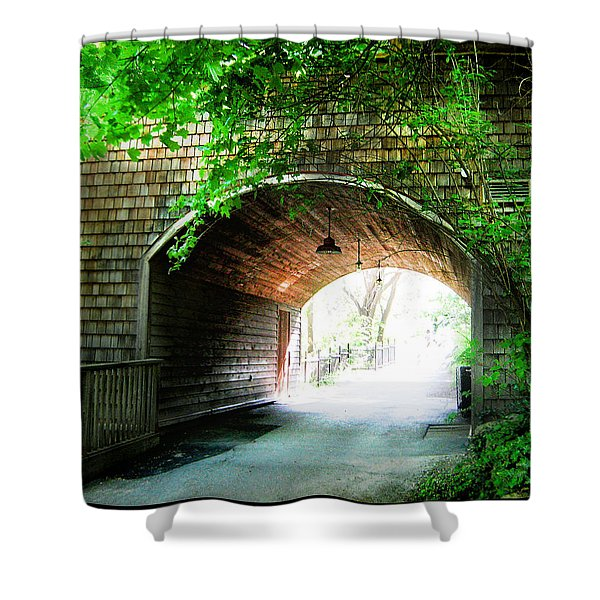 The Road To Beyond Shower Curtain