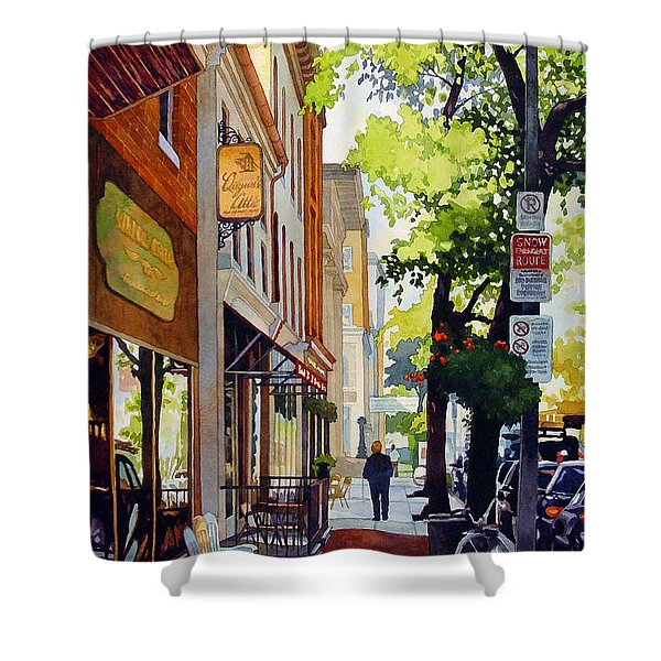 The Rocking Chairs Shower Curtain