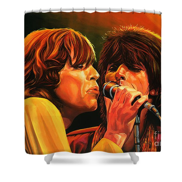 The Rolling Stones Shower Curtain
