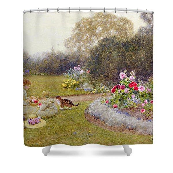 The Rose Garden Shower Curtain