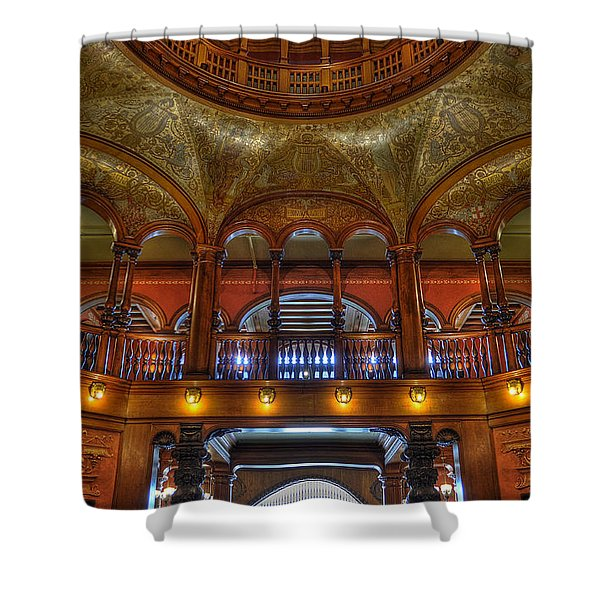 The Rotunda 2 Shower Curtain