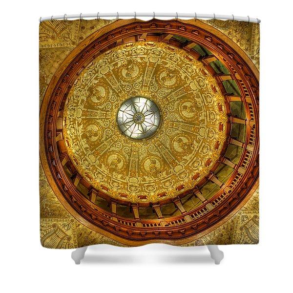 The Rotunda Shower Curtain