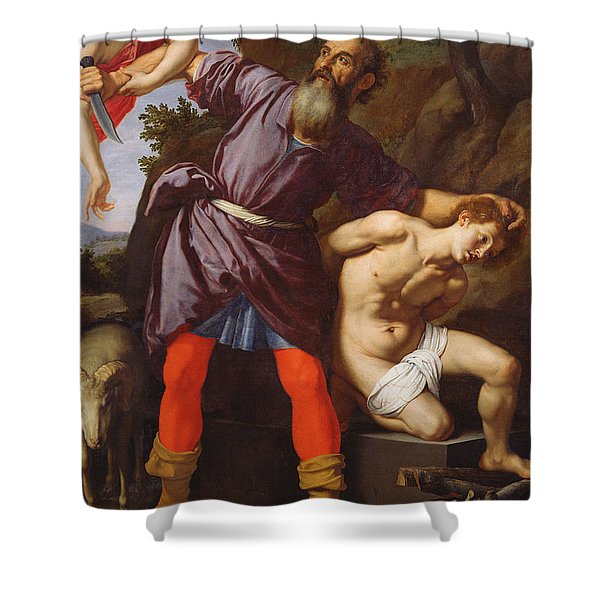 The Sacrifice Of Abraham Shower Curtain