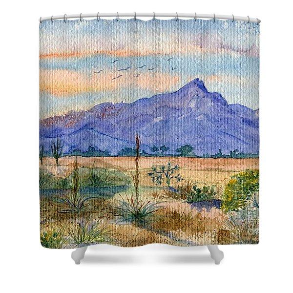 The San Tans Shower Curtain