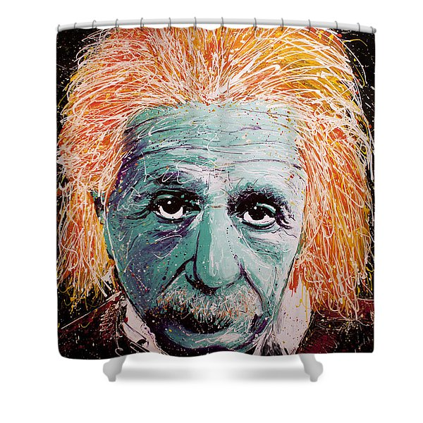 The Scientist Shower Curtain