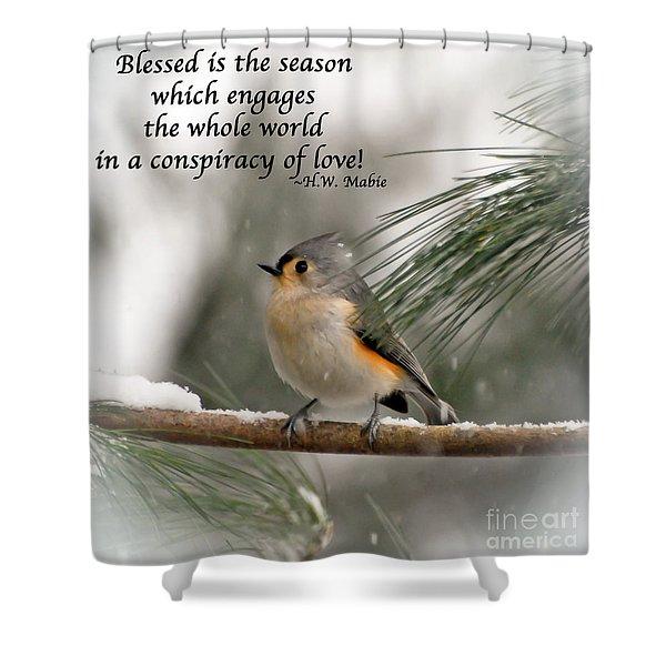 The Season Of Love  Shower Curtain
