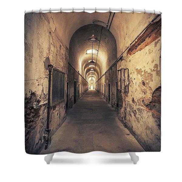 The Shadowpath Shower Curtain
