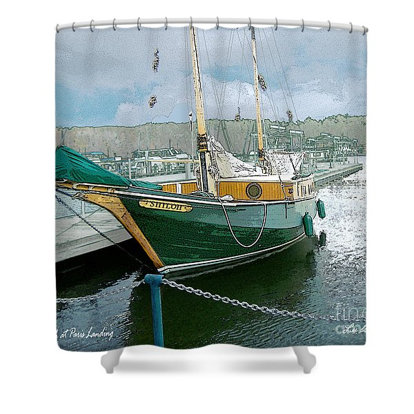 The Shiloh Shower Curtain