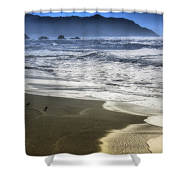 The Shore Shower Curtain