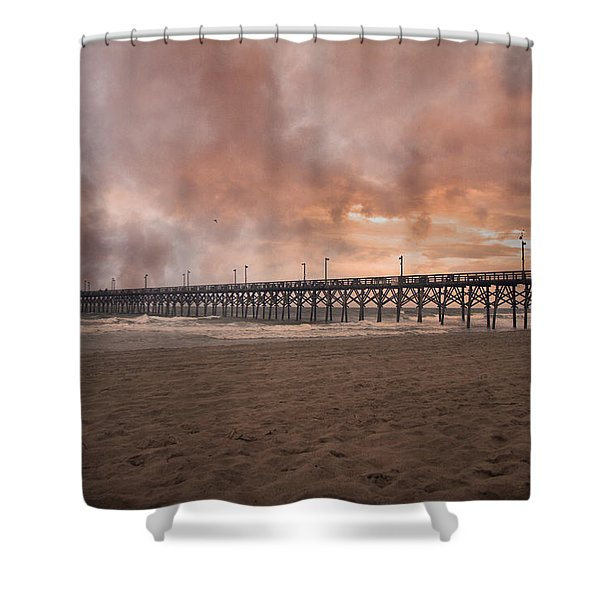 The Simple Purity Of Living Shower Curtain