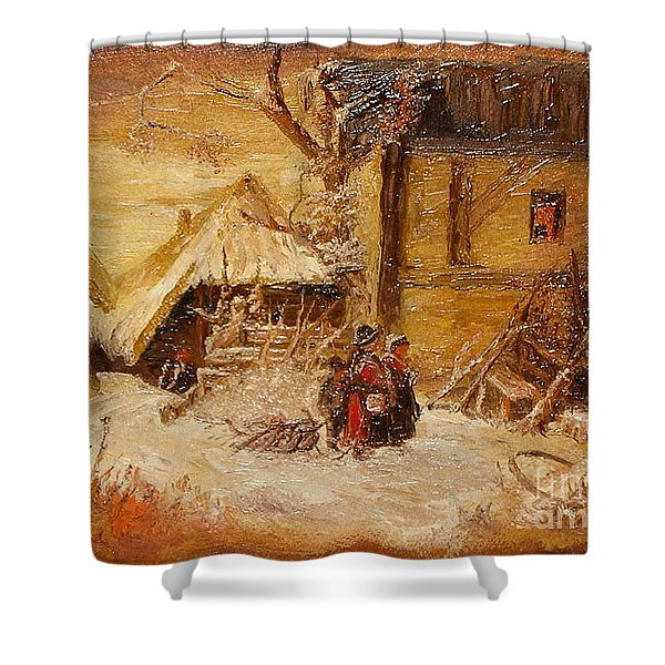 The Singers Shower Curtain
