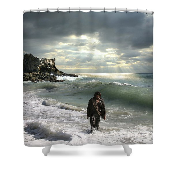 The Son Is The Radiance Of God's Glory Shower Curtain