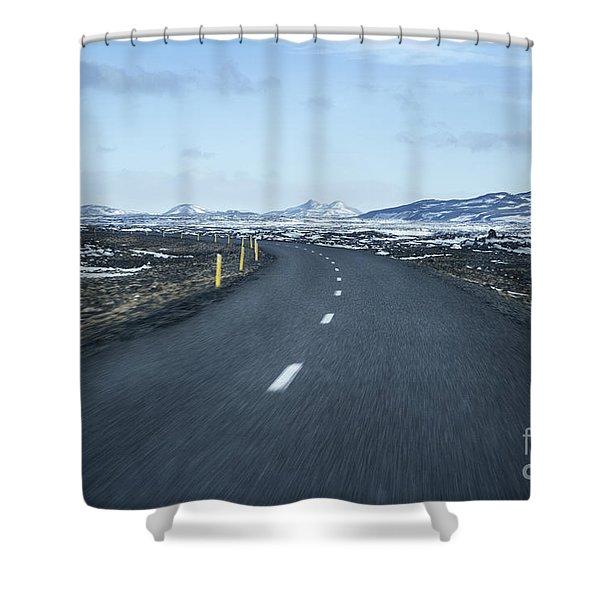 The Speed I Need Shower Curtain