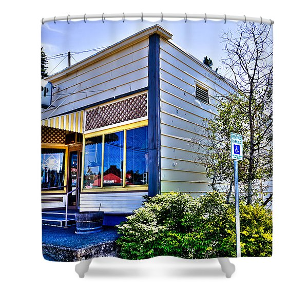 The Spot Shop Cleaners - Pullman Washington Shower Curtain