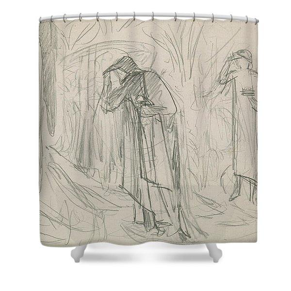 The Star Of Bethlehem Shower Curtain