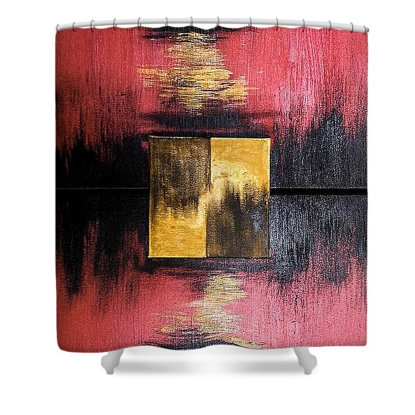 The Sunset Shower Curtain