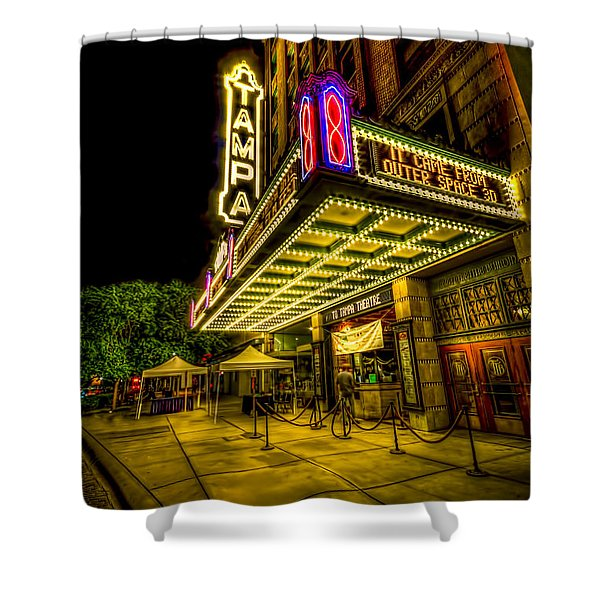 The Tampa Theater Shower Curtain