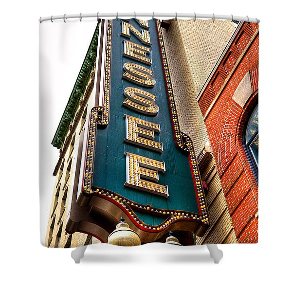 The Tennessee Theatre - Knoxville Tennessee Shower Curtain