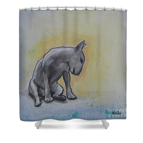 The Thinker Shower Curtain