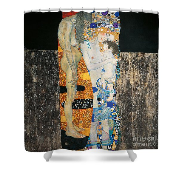 The Three Ages Of Woman Shower Curtain