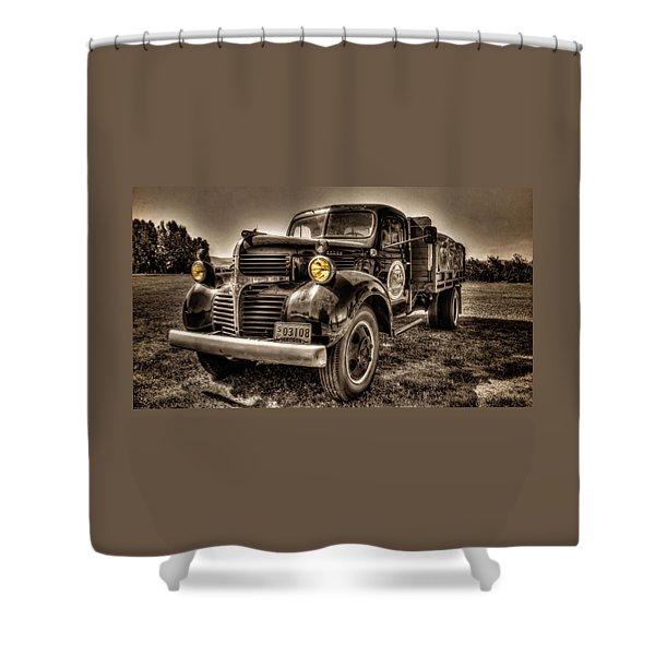Tillamook Cheese Express Shower Curtain