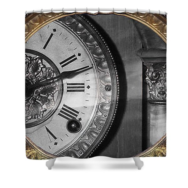 Shower Curtain featuring the photograph The Time Machine by Gunter Nezhoda