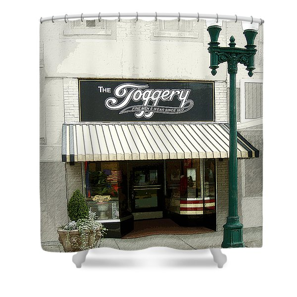 The Toggery Shower Curtain